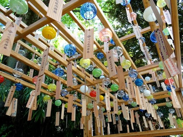 氷川神社縁結び風鈴