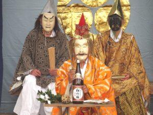 老袋の万作 @ 下老袋氷川神社