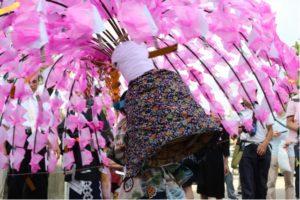 県指定文化財ほろ祭 @ 古尾谷八幡神社